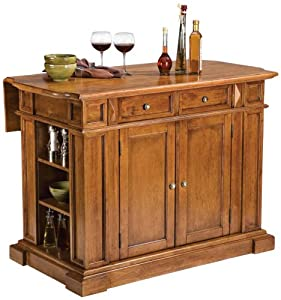 Home Styles 5004 94 Kitchen Island Distressed Oak Finish Kitchen Dining