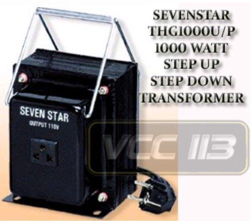 Sevenstar Thg-1000 Watt Voltage Converter Transformer 110/120/220/240V front-259535