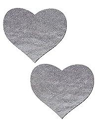 Love: Liquid Moon Heart Nipple Pasties by Tease o/s