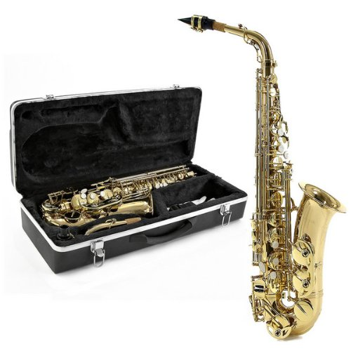 Alto Saxophone by Gear4music Light Gold