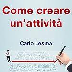Come creare un'attività | Carlo Lesma