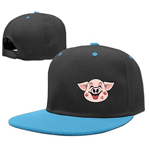 pig-logo-child-flat-peak-rock-punk-vintage-snapback-hat