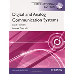 Digital  Analog Communication Systems: International Edition [Import] available at Amazon for Rs.5628