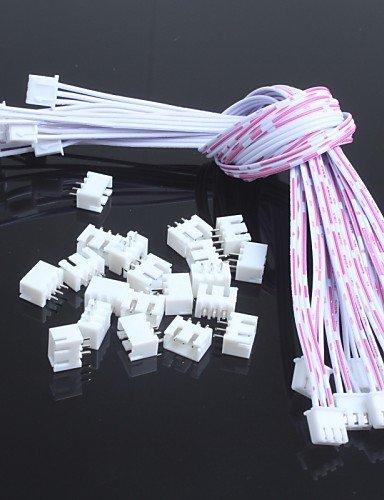 xmqcdouble-line-254-3p-xh-3p-mit-draht-leader-transposon-lang-30cm-10pcs