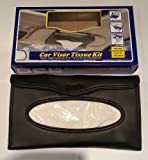 TEMPO CAR VISOR TISSUE KIT INCLUDES 1 REFILLABLE CASE 24 TISSUES