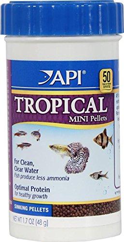 API Tropical Mini Pellet, 1.7-Ounce (Api Fish Food compare prices)