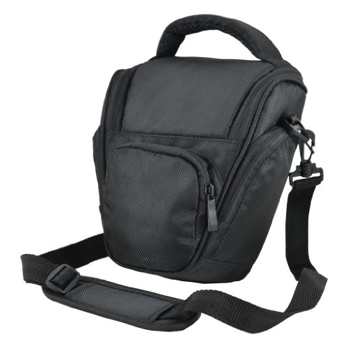 Black DSLR Camera Case Bag For Canon EOS 500D