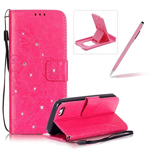 iphone-5c-rope-wallet-casebook-style-iphone-5c-lanyard-strap-portable-carrying-leather-caseherzzer-l