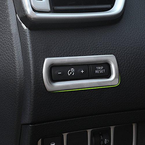 汽车内部里程表按钮框架覆盖适合日产逍客 2014年 年