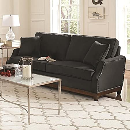 Acklin Collection Nailhead Trim Sofa