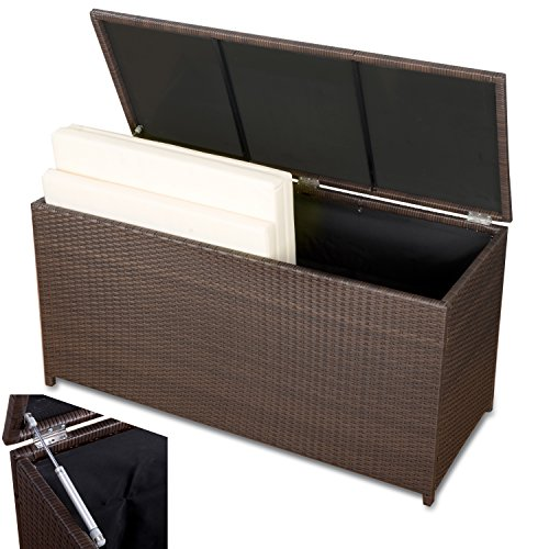kissenbox xxl auflagenbox wasserdicht polyrattan. Black Bedroom Furniture Sets. Home Design Ideas