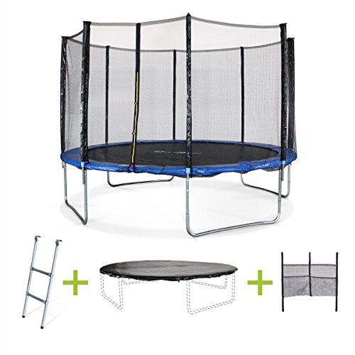 alice 39 s garden saturne trampoline avec b che de protection. Black Bedroom Furniture Sets. Home Design Ideas