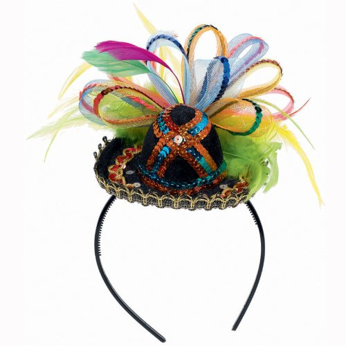 Fiesta Deluxe Tiara Sombrero Headband Party Accessory