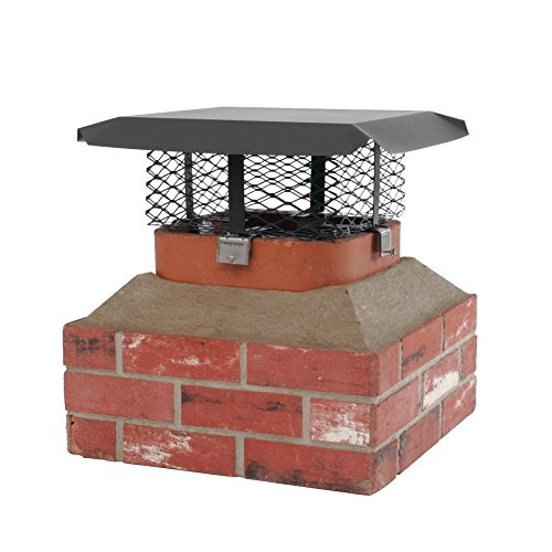 shelter-scadj-s-adjustable-clamp-on-black-galvanized-steel-single-flue-chimney-cap