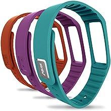 Striiv Fusion Wristband OrangeLight BluePurple One Size