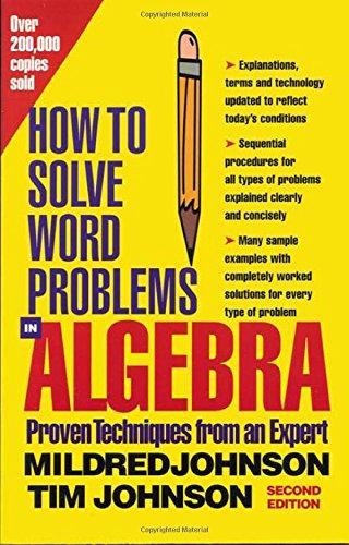 Algebra Word Problem Solvers