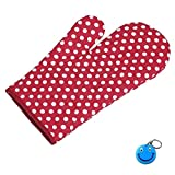 Kitchen Microwave Oven Gloves High Quality 1 Pcs With Free Smiley Key Chain