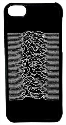 Iphone 6 Case, Cellpowercasestm Joy Division Unknown Pleasures [Fit Series] - Iphone 6 (4.7) Black Case [Iphone 6 (4.7) V4 Black]