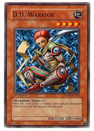 Yugioh Warrior'S Strike Structure Deck Single Card D.D. Warrior Sdws-En013 Co...