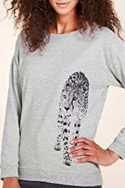 Limited Collection Cheetha Print Sweat Top [T69-7210I-S]