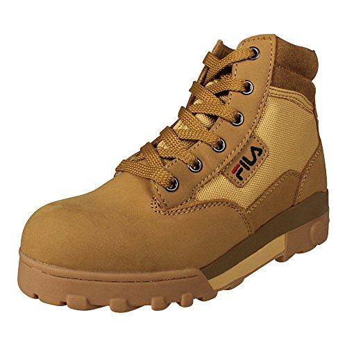Pelle delle donne Fila Stivali Grunge Mid Boot Chipmunk (beige), Schuhe Damen:36