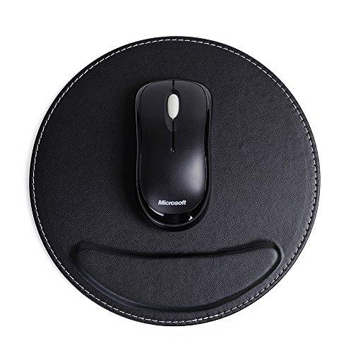 BOBiBobo PU Leather Mouse Pad PU Leather Gaming Mice Mice Pad Mat