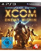 XCOM Enemy Within Commander Edition - Sony PlayStation 3