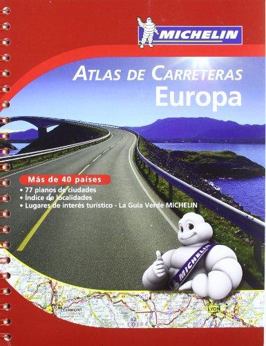 Atlas De Carreteras Europa. A4 (Atlas de carreteras Michelin)