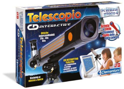 Clementoni - 12710 - Il Telescopio Cd-Interactive