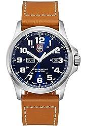 Luminox Atacama Blue Dial Stainless Steel Leather Quartz Men's Watch 1924
