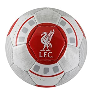Liverpool Fc Football, Soccer Ball, Size 5 Evolution Ball Official LFC Products by Liverpool