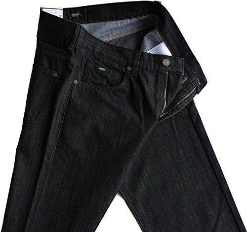 Hugo Boss -  Jeans  - Uomo Schwarz 002 W33/L34