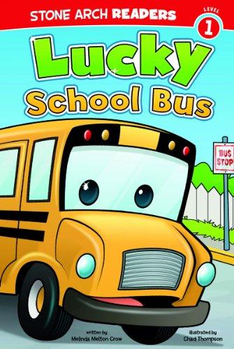 Lucky School Bus (Wonder Wheels) [Crow, Melinda Melton] (Tapa Blanda)