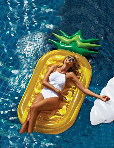 3 BEES® Giant Pool Floats,Best Swimming Pool Pineapple Shaped ...
