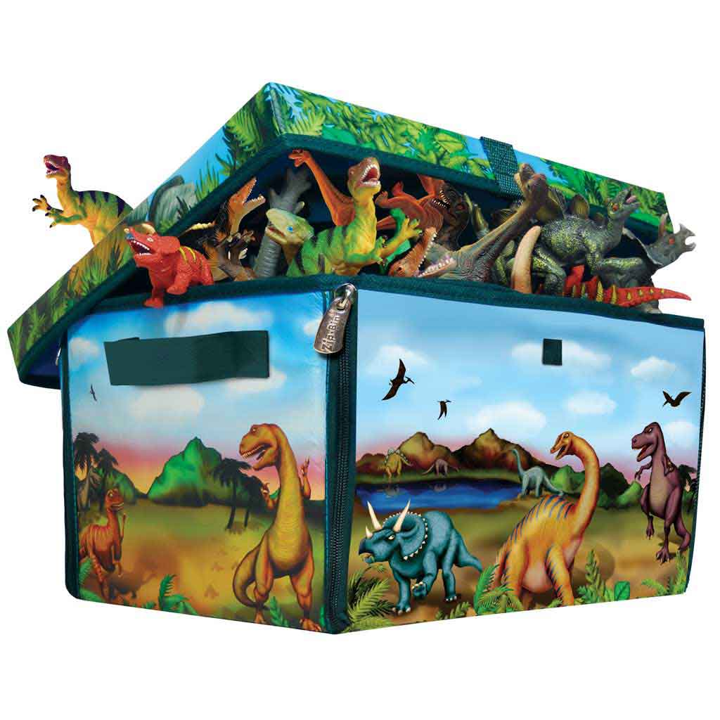 Amazon Com Neat Oh Zipbin 160 Dinosaur Collector Toy Box