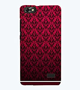 PRINTSWAG RED PATTERN Designer Back Cover Case for HUAWEI HONOR 4C