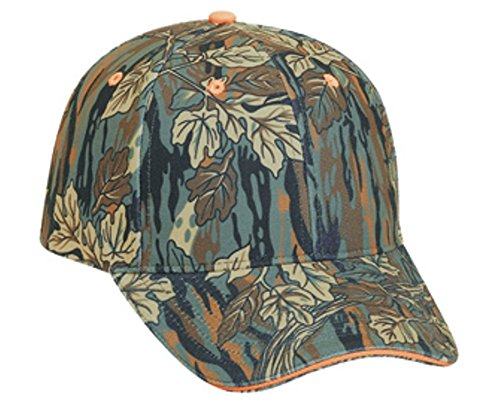 Hats & Caps Shop Camouflage Polyester Sandwich Visor Low Profile Pro Style Caps - By TheTargetBuys