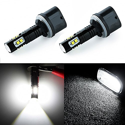 JDM ASTAR Extremely Bright Max 50W High Power 880 890 892 CREE LED Bulbs for DRL or Fog Lights, Xenon White (96 Dodge Ram Fog Lights compare prices)
