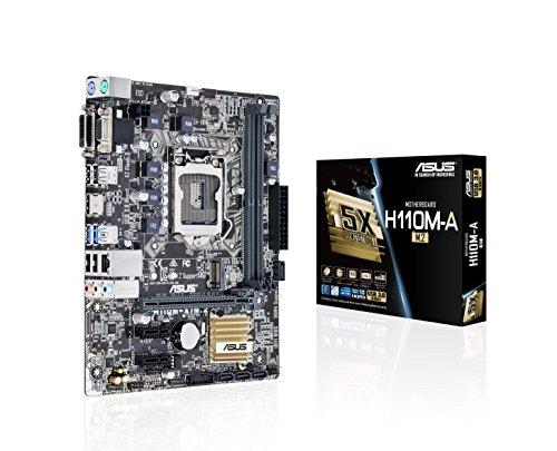 ASUSTeK Intel H110搭載 マザーボード LGA1151対応 H110M-A/M.2 【mATX】