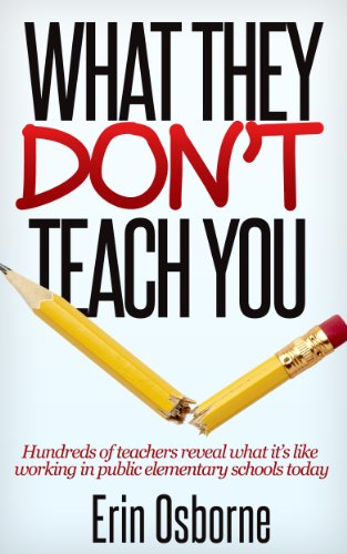 What They Don't Teach You by Erin Osborne ebook deal