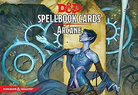Spell Cards D&d 5e D&d Next Arcane Spell Deck