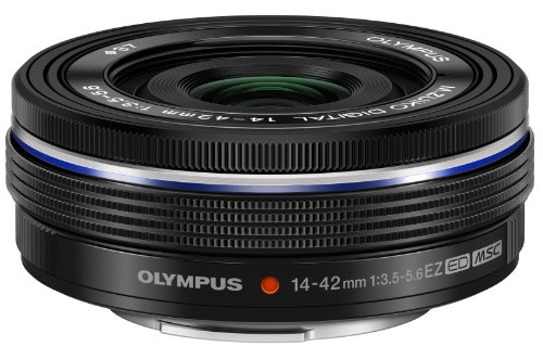 Olympus 14-42mm F3.5-5.6 EZ Lens, Black (Micro Four Thirds)