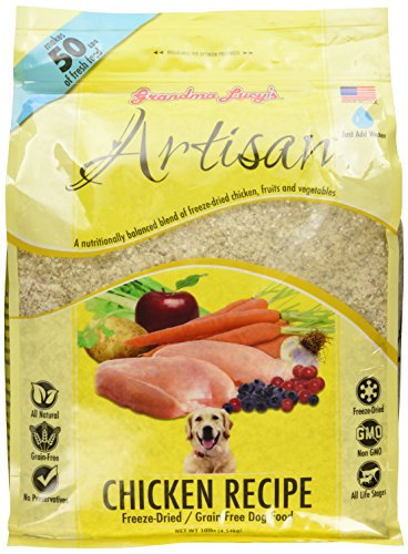Grandma Lucy's Freeze-Dried Grain-Free Pet Food: Artisan Chicken 10lbs