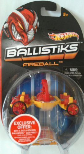 FIREBALL Hot Wheels 2012 Ballistiks Vehicle