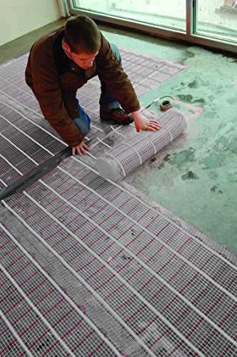 25 SF Electric Radiant Floor Heating Mat 2X12.5u0027 120V. BY Warm Your ...