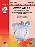 img - for Away We Go (First Division Band Course) book / textbook / text book