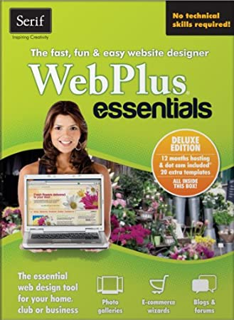 Serif WebPlus Essentials Deluxe [Download]