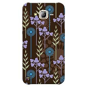 MAUj Artificial Flower Theme Back Cover for Samsung Galaxy J7