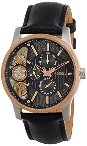 Fossil End-of-season Mechanical Twist Chronograph Black Dial Men's Watch – ME1099