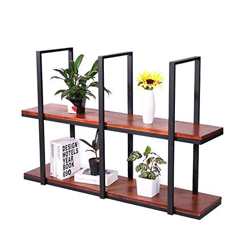 Il ristorante scaffale americano ristorante appeso cornice di vetro fiore ristorante display 100*30*80cm